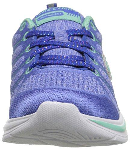 Skechers Mädchen Sneaker Swift Kicks Shimmie Up Textil Blue/Aqua