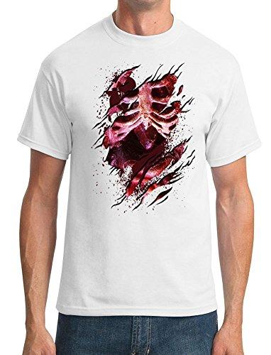 GILDAN -  T-shirt - ragazzo Bianco bianco