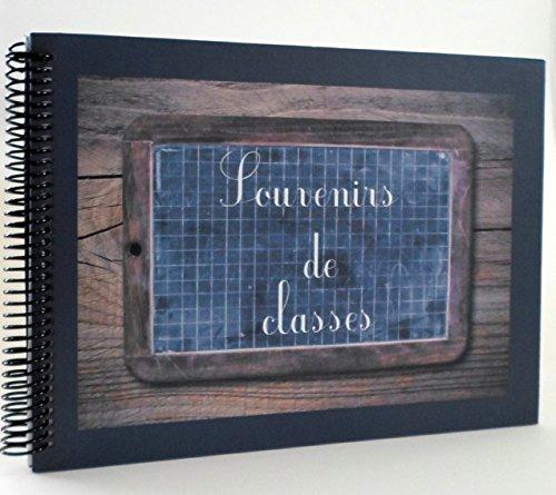 Album photo spirale Souvenirs de classes Vintage 32 pages traditionnelles 34 * 24cm
