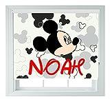 Mickey Mouse moused mit, Schwarz, von Rollos für Schlafzimmer, Badezimmer, Küche und Wohnwagen, Verschiedene Größen erhältlich, von AOA®, 60 cm