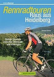 Rennradtouren Raus aus Heidelberg