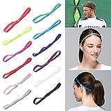 Lunji Sport Haarband, Anti-Rutsch Haarband,Yoga Haarband, Unisex (# 2)