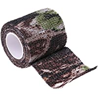 broadroot al aire libre Bionic para caza Camping Stealth cinta 5cm x 4,5m, Camouflage 5