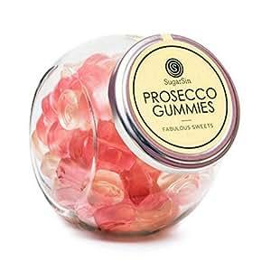 SugarSin Sparkling Prosecco Flavour Gummies Jelly Sweets (non-alcoholic)