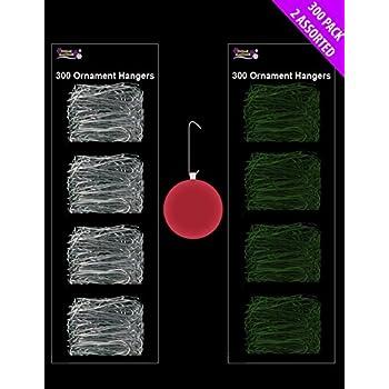 WeRChristmas Assorted Sizes Plastic Bauble Hooks Christmas Tree