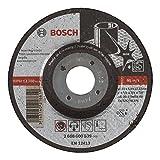 Bosch 2 608 600 539 - Disco de desbaste acodado Expert for Inox - AS 30 S INOX BF, 115 mm, 6,0 mm (pack de 1)
