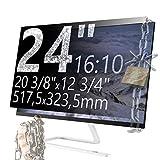 Xianan 24 Zoll 16:10 Breitbild Displayfilter Bildschirmfilter 20
