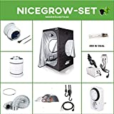 Growset Dark Box Serie 100 Komplettset EVSG NDL 400W Dual Adjust-A-Wing Cooltube