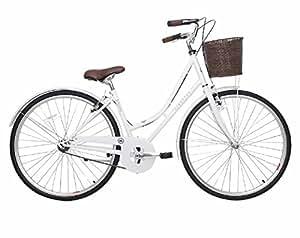 Kingston Women's Belgravia City Bike - White, 16 Inch