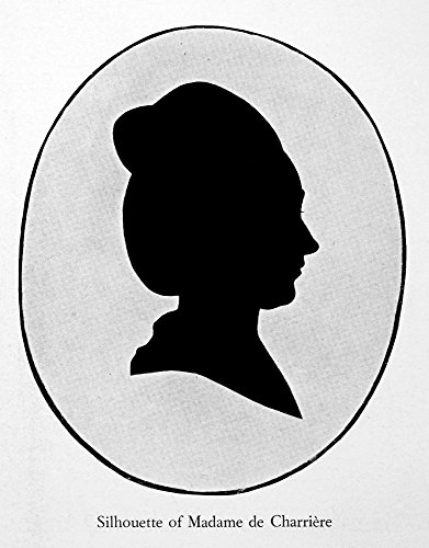 The Poster Corp Isabelle De Charriere/N(1740-1805). N_E Isabella Van Tuyll. Dutch Writer. Silhouette. Kunstdruck (45,72 x 60,96 cm)