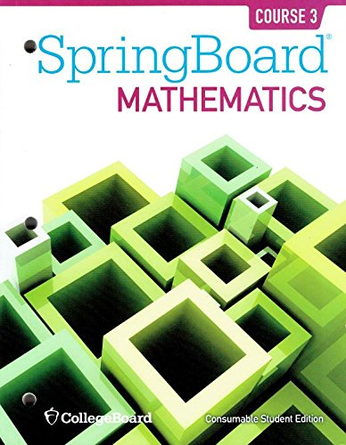 Download pdf springboard mathematics common core edition course 3 similar new used and collectible books available now at great prices springboard mathematics common core edition course 3 prealgebra consumable student fandeluxe Images
