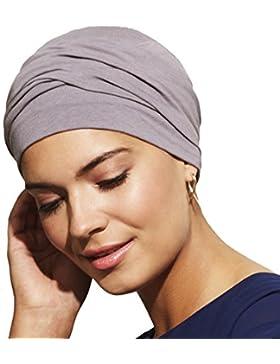 Gorro Zoya color gris púrpura para mujeres con alopecia