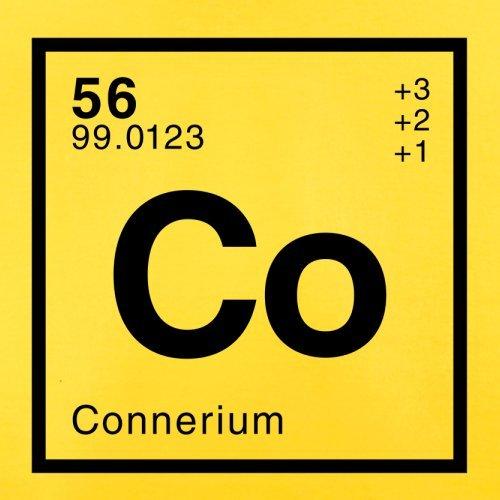 Conner Periodensystem - Herren T-Shirt - 13 Farben Gelb