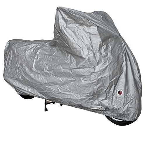 Telo Copri Moto Scooter Naked Customo Impermeabile Universale Argento XL