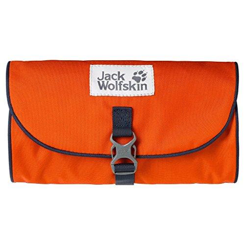 Jack Wolfskin Uni Mini Waschsalon Kulturbeutel, Dark Satsuma, 26 x 15 x 1.5 cm, 0.7 Liter