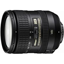 Nikon AF-S DX VR 16-85mm F3.5-5.6G - Objetivo para Montura F de Nikon (distancia focal 24-127.5mm, apertura f/3.5, estabilizador) color negro