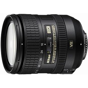 Nikon AF-S DX Nikkor 16-85mm 1:3,5-5,6G ED VR Objektiv (67mm Filtergewinde, bildstabilisiert) schwarz