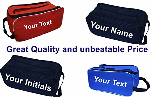 PERSONALISED Football Boot Bag   Shoe Bag New Prostyle Sports Football Rugby Hockey Gym - Royal