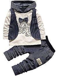 13fcf758d83f feiXIANG® Felpe + Pantaloni da Bambina e Bambino