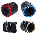#4: SHOPEE Auto Focus AF TTL Macro Lens Extension Tube Ring Adapter for Canon Camera EF EFS (COLOR MAY VERY)