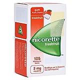 Nicorette 2 mg freshfruit Kaugummi, 105 St.