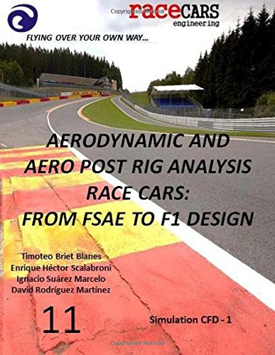 Aerodynamic and Aero Post Rig Analysis Race Cars: From FSAE to F1 Design - 11: Everything necessary to design any Race Car, mainly focusing on Aerodynamics, Suspension and Grip -
