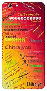 Chitrajyoti (Wonderfully Glorious) Name & Sign Printed All over customize & Personalized!! Protective back cover for your Smart Phone : Apple iPhone 6-Plus