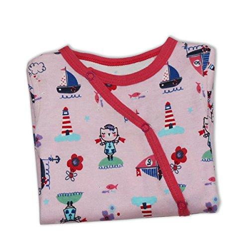 Kadambaby- Cute Doodle baby body suit /footed romper /Newborn sleepsuit / onesies for baby boy/ Premium baby sleepwear (6-12 Months)