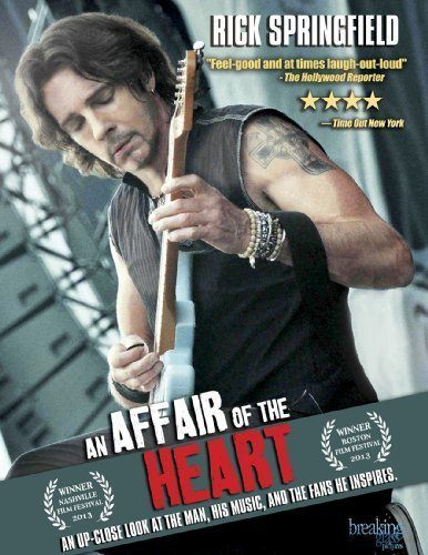 An Affair of the Heart: Rick Springfield by Breaking Glass Pictures by Sylvia Caminer (Glass Pictures Breaking)