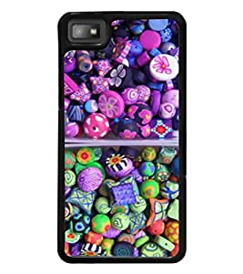 printtech Sweet Candy Back Case Cover for BlackBerry Z10