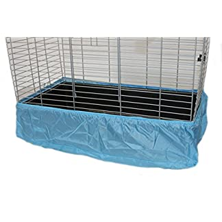 Cosipet Oblong Cage Tidy, X-Large, Sky Blue 516wViDnuNL
