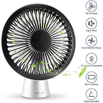 Mycarbon Desk Fan 6 8m S Powerful Air Circulator Turbo Fan