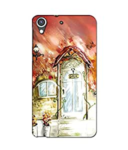Crazymonk Premium Digital Printed 3D Back Cover For Htc 626…