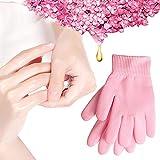 1 Paar Feuchtigkeitsspendende Spa-Handschuhe Feuchtigkeitsspendende Gel Handschuhe Unisex SPA Handschuhe Magische Kosmetikerin erweichen Whitening feuchtigkeitsspendende (Pink)