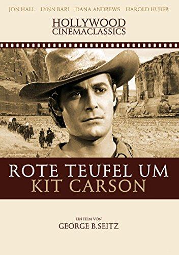 Rote Teufel um Kit Carson (Teufel Kit)