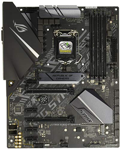 ASUS ROG STRIX B360-F GAMING LGA1151 (300 Series) DDR4 DP HDMI DVI M.2 ATX Motherboard