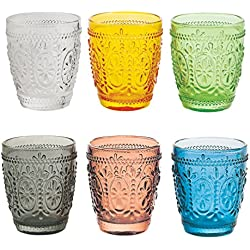 SATUR Set Vaso 6 Uds. Imperial Multicolor