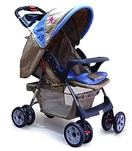 Ador Convenio 44 One Touch Fold Baby Stroller Sky Blue