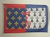 PAVILLON NAUTIQUE PAYS DE LA LOIRE 45x30cm - DRAPEAU DE BATEAU LIGÉRIEN - FRANCE 30 x 45 cm - AZ FLAG