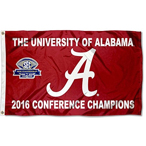 Alabama Crimson Tide 2016SEC Champions Flagge -