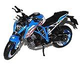 KTM 1290 Super Duke R Blau USA Patriot Edition Ab 2013 1/12 K-T-M Modell Motorrad Modell Auto