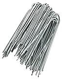 GardenMate® 100 Picchetti 150mm Ø 2,9mm di filo di acciaio GALVANIZZATI Ancore a terra Per Telo Pacciamatura