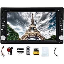Doppio DIN Eincar6.2 pollici navigazione GPS lettore DVD con HD