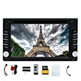 Doppio DIN Eincar6.2 pollici navigazione GPS lettore DVD con HD touch screen digitale 8GB GPS Map Autoradio blutooth di sistema di Windows 2din supporto Car Stereo carlogo opzionale Head Unit telecomando