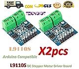 2pcs L9110S H-bridge Dual DC Stepper Motor Driver Controller Board L9110 Module