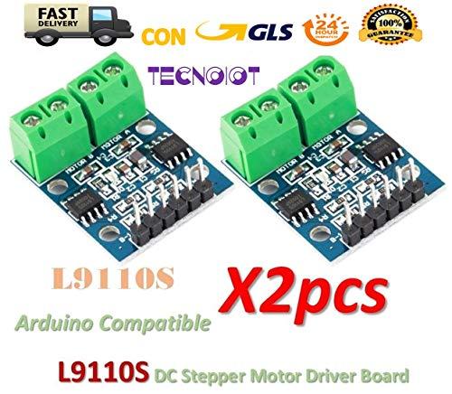 2pcs L9110S H-bridge Dual DC Stepper Motor Driver Controller Board L9110 Module H-bridge Driver