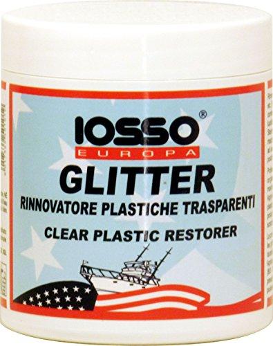 IOSSO xgl2, Polierpaste für Kunststoffe Transparent Unisex–Erwachsene, weiß, 250ml