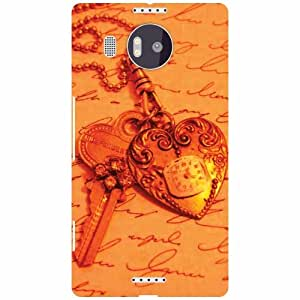 Printland Microsoft Lumia 950 XL Back Cover High Quality Designer Case