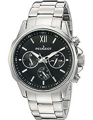 Reloj de acero inoxidable de los hombres de la multi-función de reloj del calendario