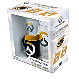 ABYstyle - Overwatch - Pack Verre 29cl + Shooter + Mini Mug Logo
